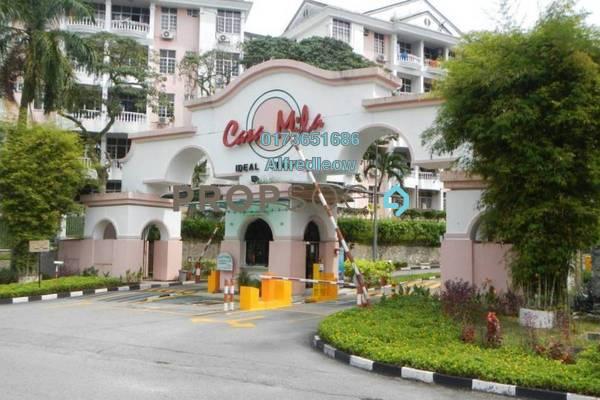 For Sale Condominium at Casa Mila, Selayang Freehold Semi Furnished 3R/2B 330k