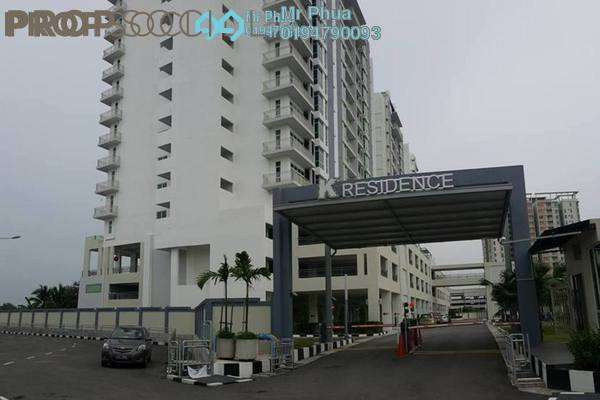 For Rent Condominium at Kelisa Residence, Seberang Jaya Freehold Semi Furnished 4R/2B 1.2k
