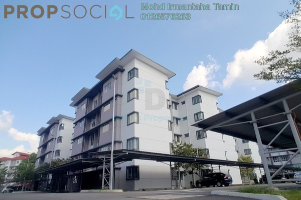 For Sale Apartment at D'Camelia Court, Nilai Freehold Unfurnished 3R/2B 265k