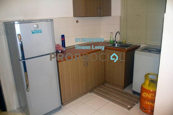 For Rent Condominium at Ritze Perdana 1, Damansara Perdana Freehold Fully Furnished 0R/1B 1.25k
