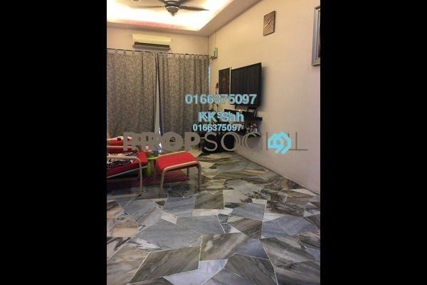 For Sale Terrace at Taman Megah, Cheras South Freehold Semi Furnished 3R/2B 460k