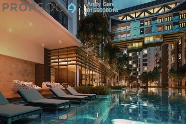 For Rent Condominium at The Potpourri, Ara Damansara Freehold Fully Furnished 1R/1B 2.5k