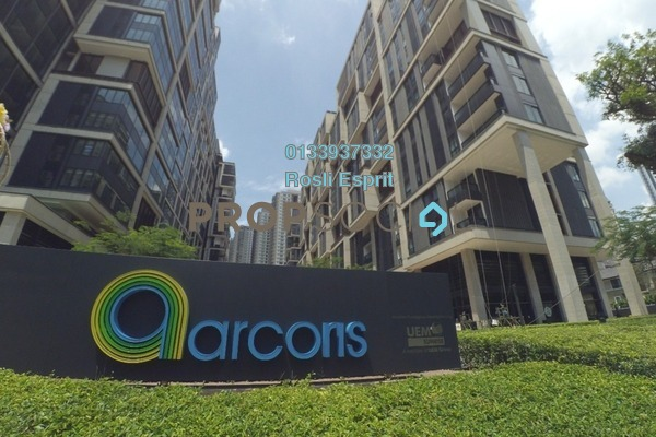 For Sale Office at Arcoris, Mont Kiara Freehold Semi Furnished 0R/1B 718k