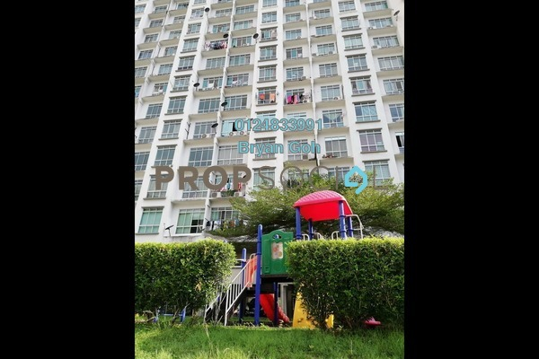 For Sale Apartment at Suria Vista, Paya Terubong Freehold Unfurnished 3R/2B 270k