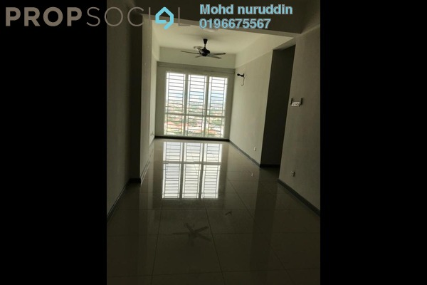 For Rent Condominium at Residensi Gombak 126, Setapak Freehold Semi Furnished 3R/2B 1.5k