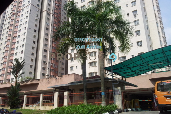 For Sale Apartment at Melur Apartment, Sentul Freehold Unfurnished 3R/2B 399k