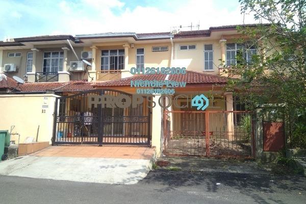 For Sale Terrace at Section 5, Bandar Mahkota Cheras Freehold Unfurnished 4R/3B 460k