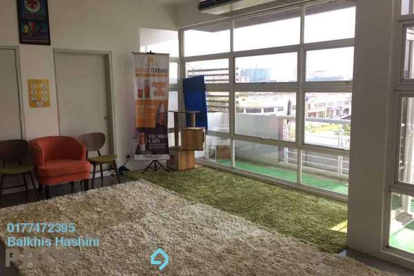 For Rent Office at Laman Seri, Shah Alam Freehold Semi Furnished 1R/2B 3.2k