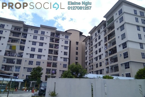 For Sale Apartment at Vista Mahkota Apartment, Bandar Mahkota Cheras Freehold Semi Furnished 3R/2B 297k