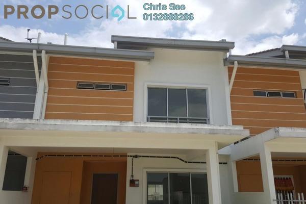 For Sale Terrace at Ixora Residences, Bandar Seri Coalfields Freehold Unfurnished 4R/4B 515k