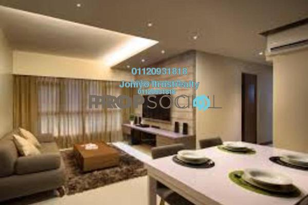 For Sale Condominium at Empire Subang, Subang Jaya Freehold Semi Furnished 3R/2B 580k