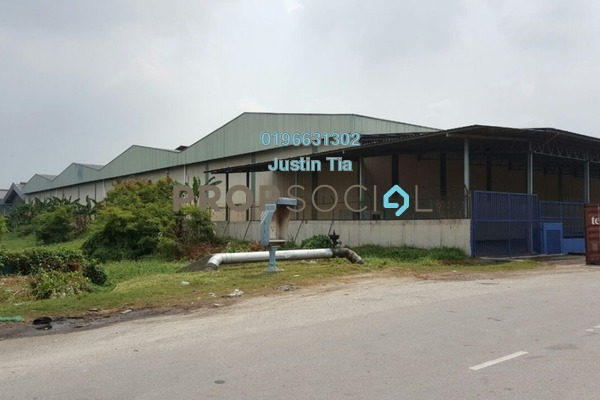 For Rent Factory at North Port, Port Klang Freehold Semi Furnished 0R/0B 63.4k