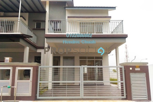 For Sale Terrace at Kepayang Residence, Taman Bukit Kepayang Freehold Unfurnished 4R/3B 730k