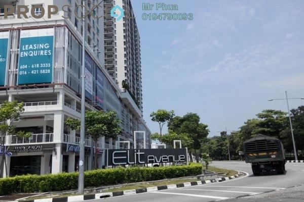 For Rent Shop at Elit Avenue, Bayan Baru Freehold Unfurnished 0R/0B 6.5k