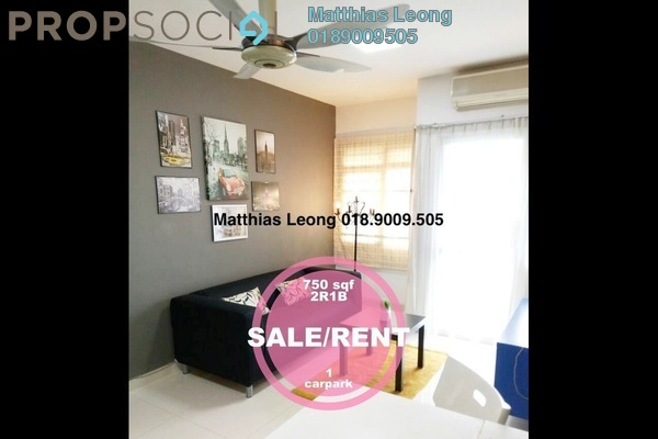 For Rent Condominium at Perdana Exclusive, Damansara Perdana Freehold Fully Furnished 2R/1B 1.9k
