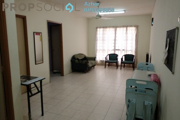 For Sale Apartment at Section 7, Shah Alam Leasehold Fully Furnished 3R/2B 235k