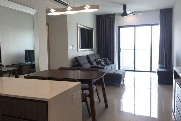 For Rent Serviced Residence at V Residence 2 @ Sunway Velocity, Cheras Freehold Fully Furnished 2R/2B 3.3k