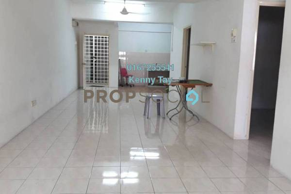 For Sale Condominium at Bougainvilla, Segambut Freehold Semi Furnished 3R/2B 390k