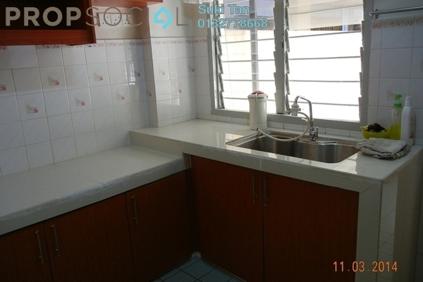 For Rent Apartment at SD Tiara Apartment, Bandar Sri Damansara Freehold Semi Furnished 3R/2B 1.2k