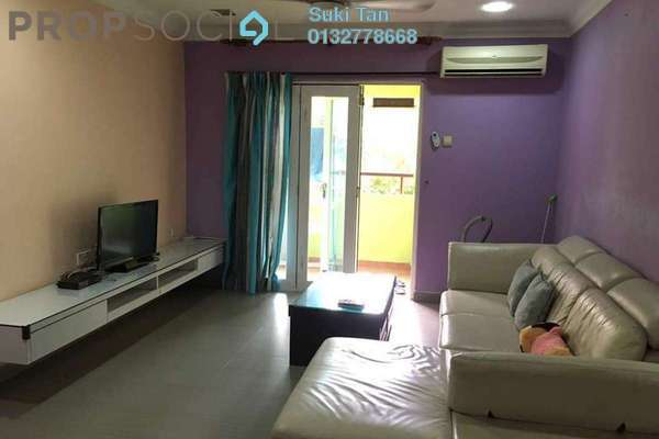 For Rent Condominium at Paradesa Tropika, Bandar Sri Damansara Freehold Semi Furnished 3R/2B 1.6k