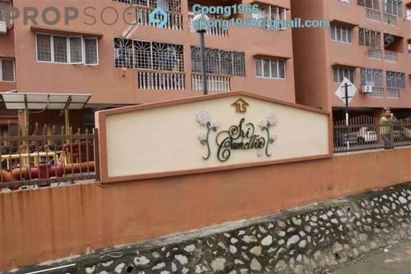 For Rent Apartment at Sri Camellia Apartment, Kajang Freehold Unfurnished 3R/2B 750translationmissing:en.pricing.unit