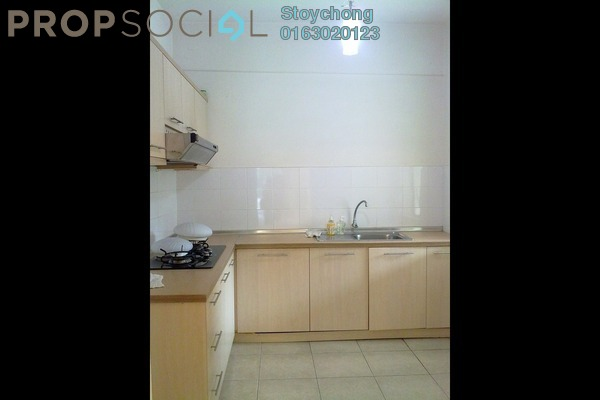 For Rent Condominium at Perdana View, Damansara Perdana Freehold Semi Furnished 3R/2B 1.4k