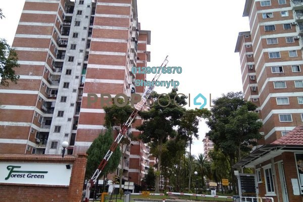 For Rent Condominium at Forest Green, Bandar Sungai Long Freehold Semi Furnished 4R/2B 1.6k