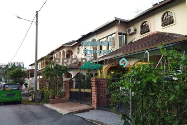 For Rent Terrace at SL7, Bandar Sungai Long Freehold Semi Furnished 4R/3B 1.6k