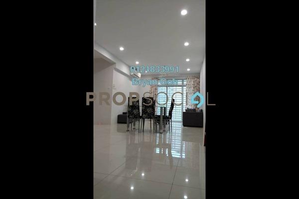 For Rent Condominium at The Peak Residences, Tanjung Tokong Freehold Semi Furnished 3R/2B 1.8k