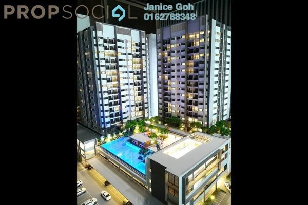 For Sale Condominium at Twin Palms, Bandar Sungai Long Freehold Unfurnished 3R/2B 359k
