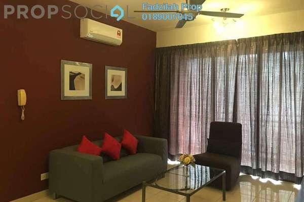 For Rent Condominium at Casa Kiara I, Mont Kiara Freehold Fully Furnished 3R/3B 3k