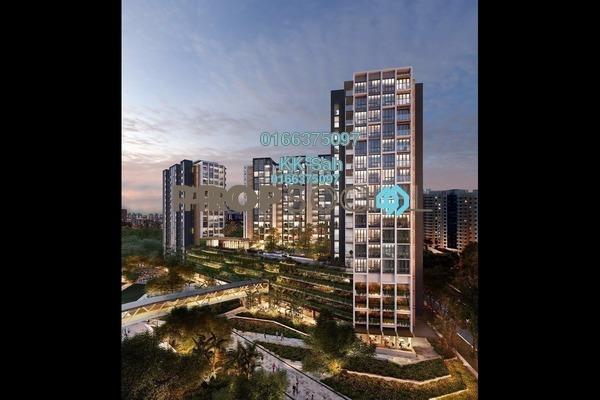For Sale Condominium at The Corner @ Alam Damai, Alam Damai Freehold Semi Furnished 3R/2B 518k