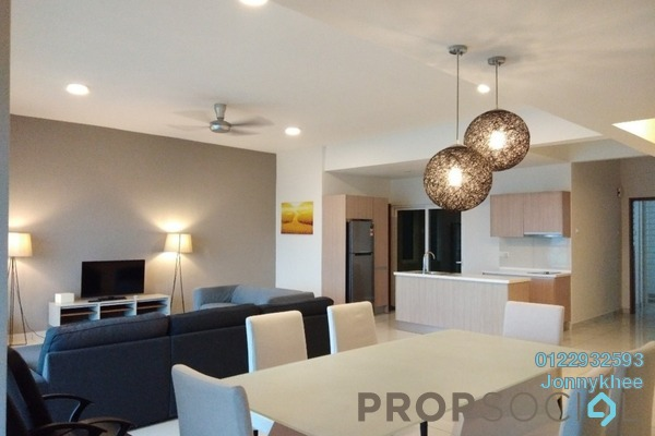 For Rent Condominium at Royal Regent, Dutamas Freehold Fully Furnished 3R/3B 3.5k