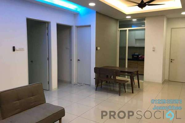 For Sale Condominium at Fortune Perdana Lakeside, Kepong Freehold Semi Furnished 4R/2B 680k