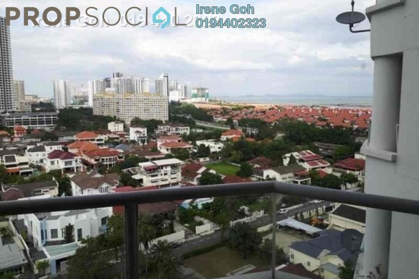 For Rent Condominium at Marina Bay, Tanjung Tokong Freehold Fully Furnished 3R/2B 2.2k