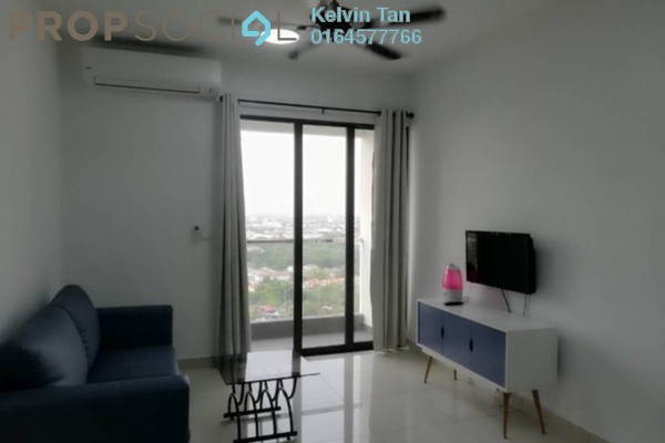 For Rent Serviced Residence at Woodsbury Suites, Butterworth Freehold Fully Furnished 2R/1B 1.5k