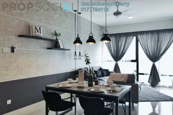 For Rent Apartment at SouthKey Mosaic @ SouthKey, Johor Bahru Freehold Fully Furnished 3R/2B 2.48k