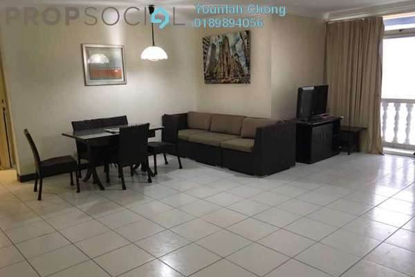For Sale Condominium at City Gardens, Bukit Ceylon Freehold Semi Furnished 3R/2B 625k