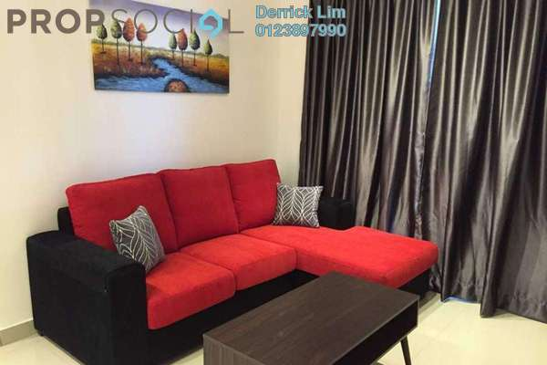 For Sale Condominium at Pearl Suria, Old Klang Road Freehold Fully Furnished 2R/2B 790k