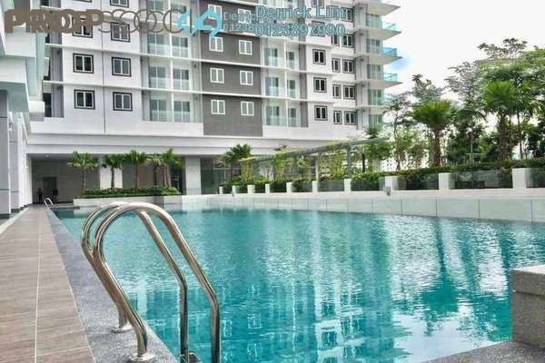 For Rent Condominium at Southbank Residence, Old Klang Road Freehold Semi Furnished 3R/2B 2k