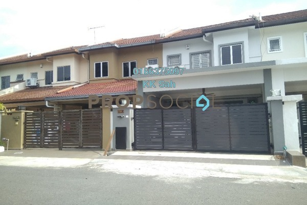 For Sale Link at Section 3, Bandar Mahkota Cheras Freehold Fully Furnished 4R/3B 650k