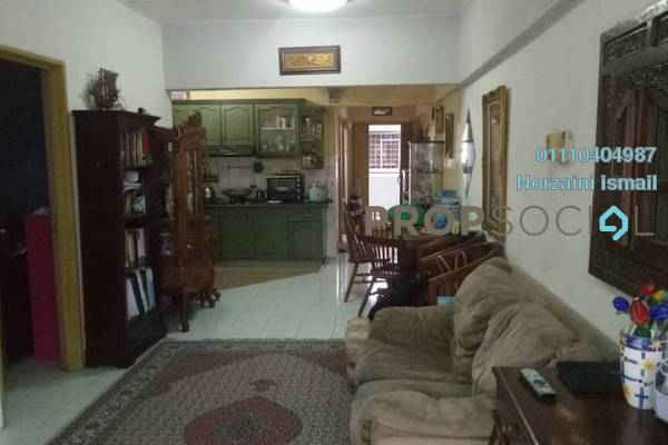 For Sale Apartment at Section 13, Shah Alam Freehold Semi Furnished 3R/2B 270k