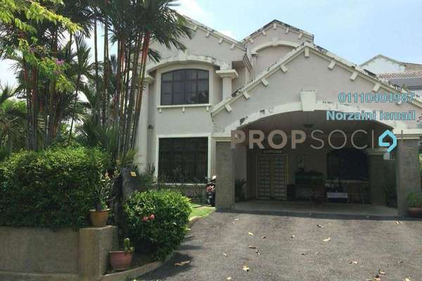 For Sale Semi-Detached at Kelab Golf Sultan Abdul Aziz Shah, Shah Alam Freehold Semi Furnished 5R/4B 1.4m