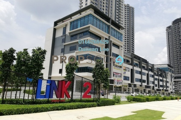 For Rent Serviced Residence at The Link 2 Residences, Bukit Jalil Freehold Fully Furnished 2R/1B 1.9k