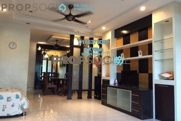 For Rent Apartment at Bandar Botanic, Klang Freehold Semi Furnished 3R/2B 1.2k