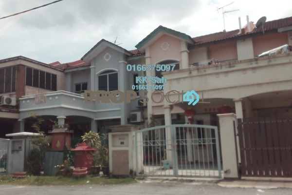 For Sale Link at Taman Suria Pendamar, Port Klang Freehold Semi Furnished 4R/3B 359k