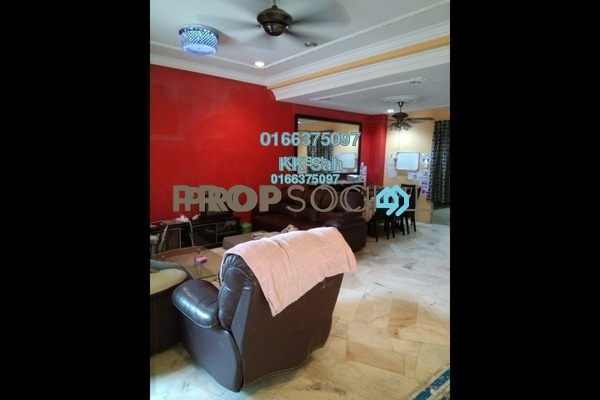 For Sale Terrace at Taman Sentosa Perdana, Klang Freehold Semi Furnished 4R/3B 458k
