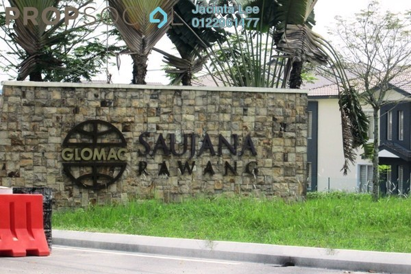 For Sale Terrace at Saujana Rawang, Rawang Freehold Semi Furnished 4R/3B 348k
