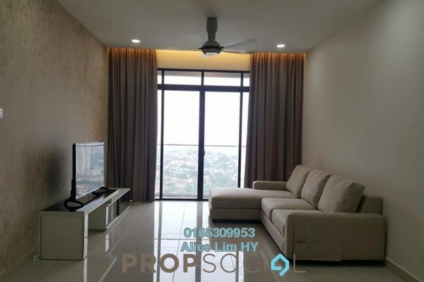For Rent Condominium at Mont Residence, Tanjung Tokong Freehold Fully Furnished 3R/2B 2.2k