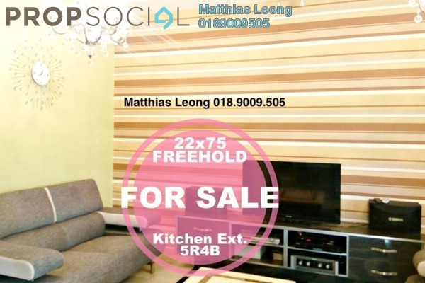For Sale Terrace at Putra Avenue, Putra Heights Freehold Semi Furnished 5R/4B 880k
